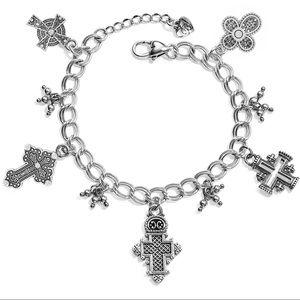 Brighton Crosses of The World Bracelet